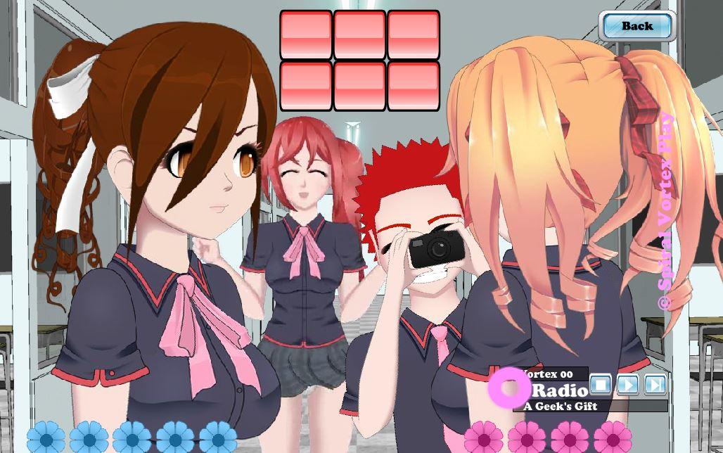 Аниме игры для девочек играть онлайн