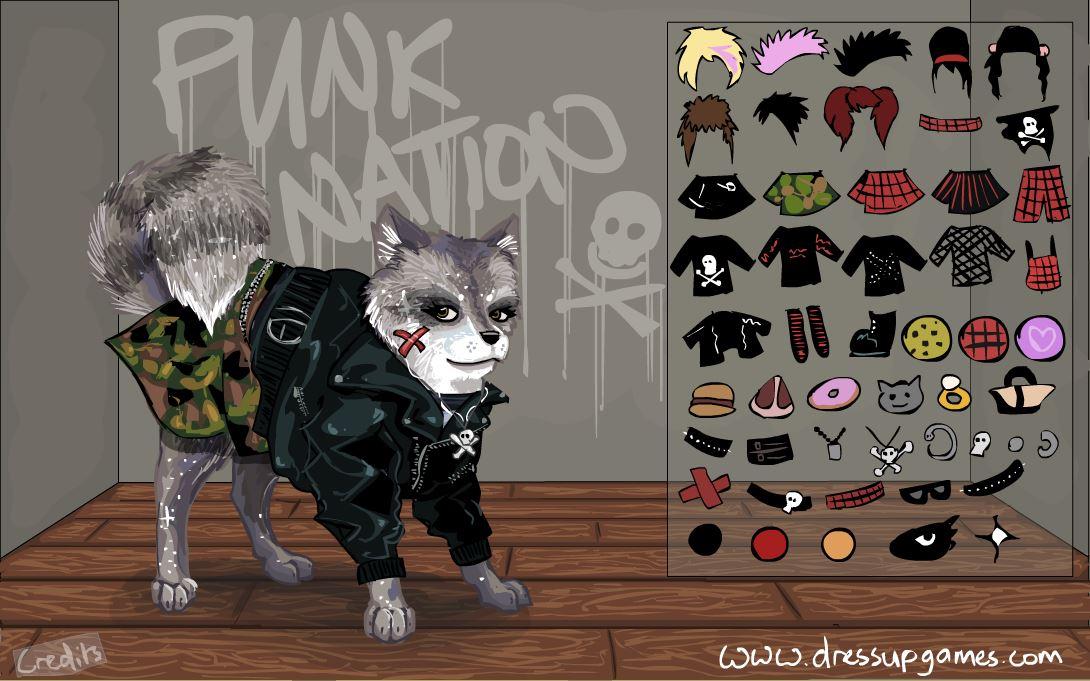 Собака панк