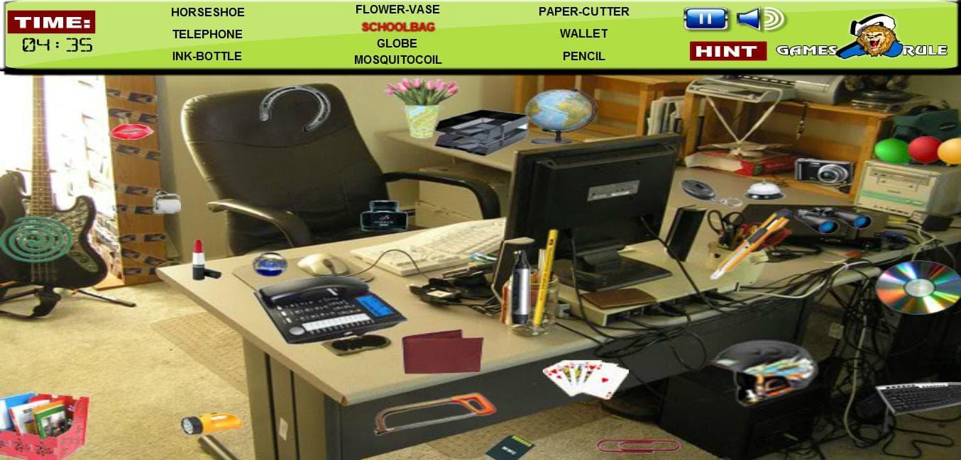 Офис скрытые предметы