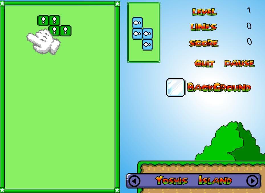 Марио тетрис 3
