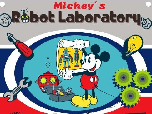 Микки Маус и робот