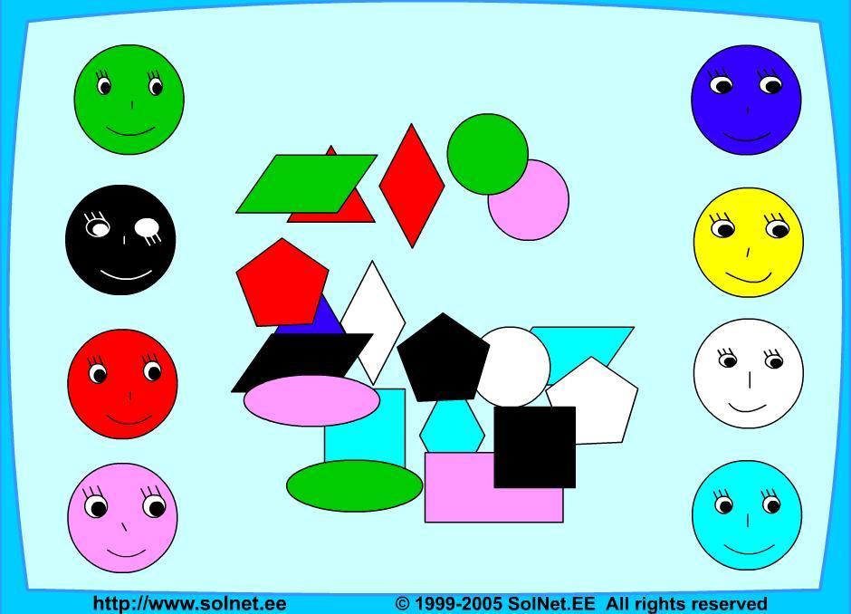 Учим и запоминаем цвета
