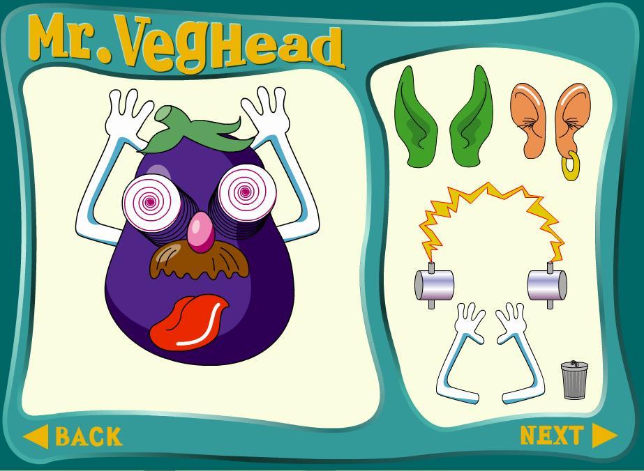 Мистер Вегетарианская голова