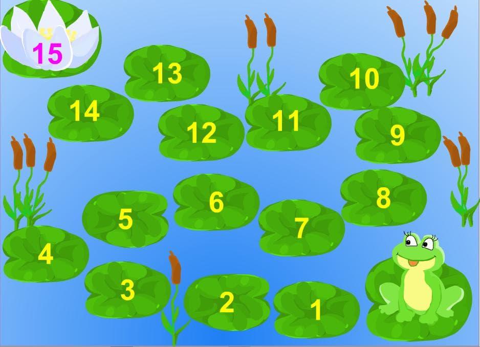 Учим цифры от 1 до 15