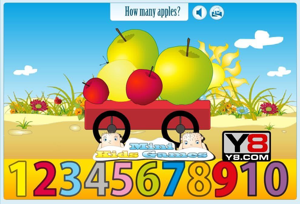 Сколько яблок в тележке