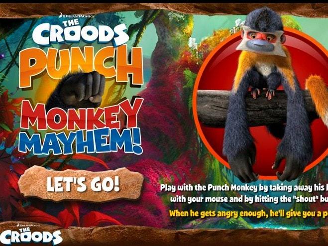 Смешные обезьяны Крудс