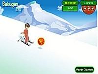 Бакуган на лыжах
