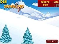 Бакуган на сноуборде