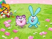 Крош и Ежик собирают подарки