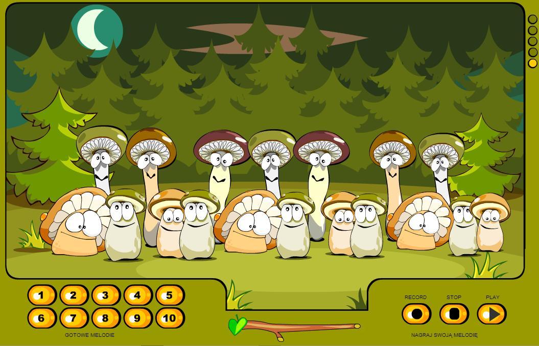 Поющие грибы