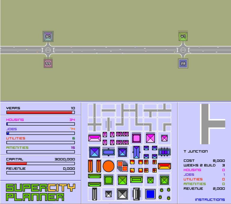Планирование города