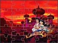 Алладин и Жасмин на закате