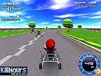 Марио гонки на тележках