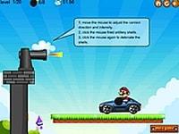 Марио сбрасывает автомобили