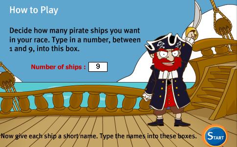 Гонка пиратов
