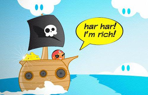Катящийся Пират