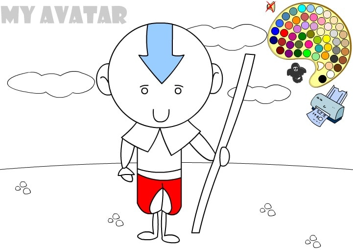 Мой аватар раскраска