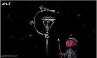 Горящий фонарь
