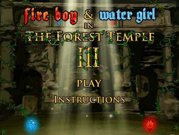 Огонь и Вода 3 в лесу