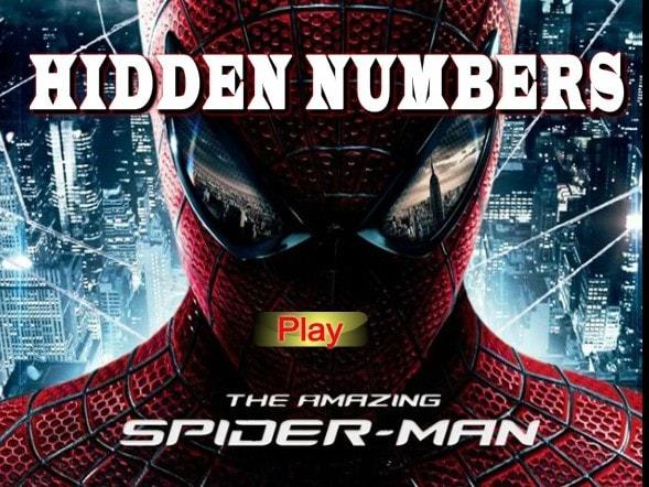 Человек паук и скрытые предметы