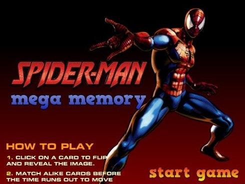 Спайдермен мега мемори