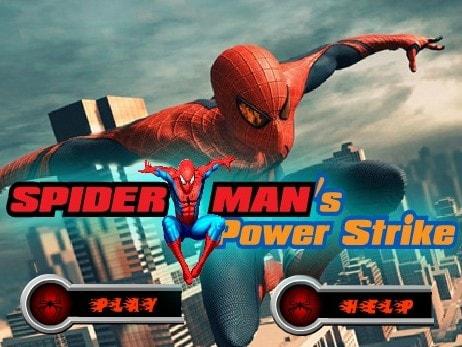 Сила удара Человека Паука