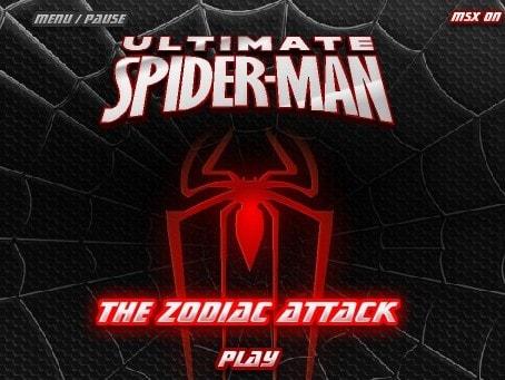Зодиакальная атака Человек Паук