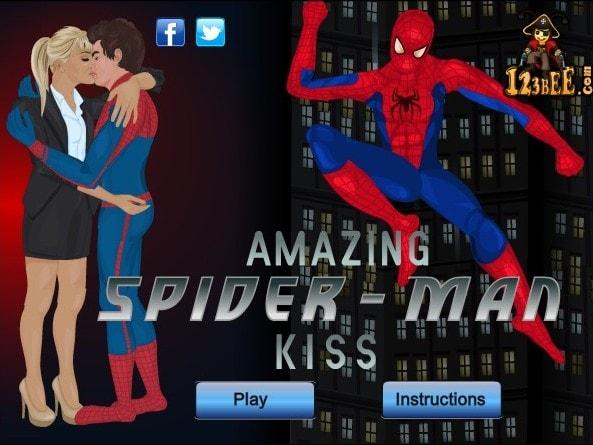 Мимолетный поцелуй с Человеком пауком
