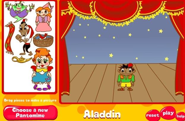 Алладин и Жасмин - кукольный спектакль