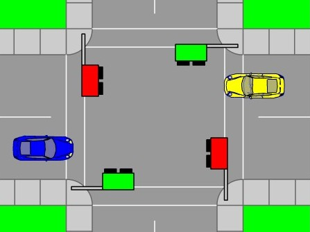 На перекрестке дорог
