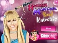 Прическа Ханна Монтана