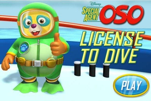 Спецагент Осо лицензия на погружение