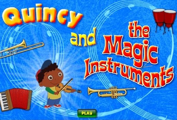 Квинси и волшебные инструменты