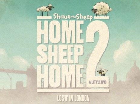 Барашек Шон приключение в Лондоне