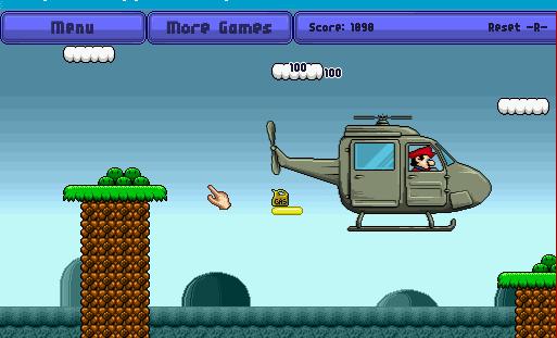 Марио летчик