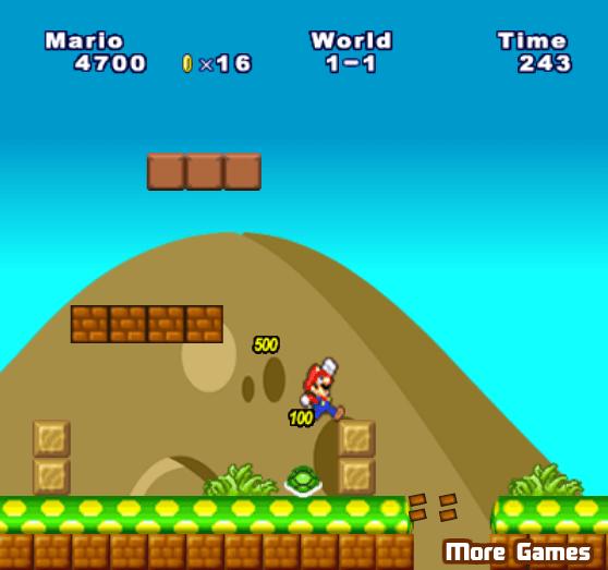 Грибное приключение Марио