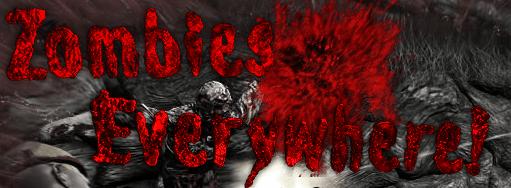 Зомби всюду