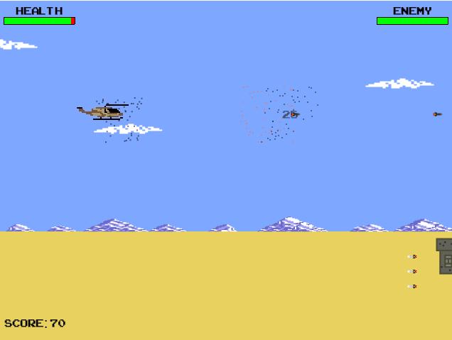 Боевой вертолет: Нападение пустыни