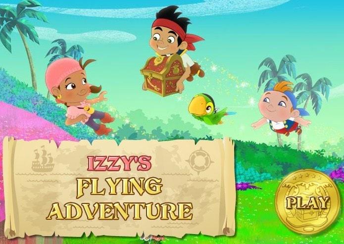 Иззи, Кабби и попугай Скалли зовут к новым приключениям!