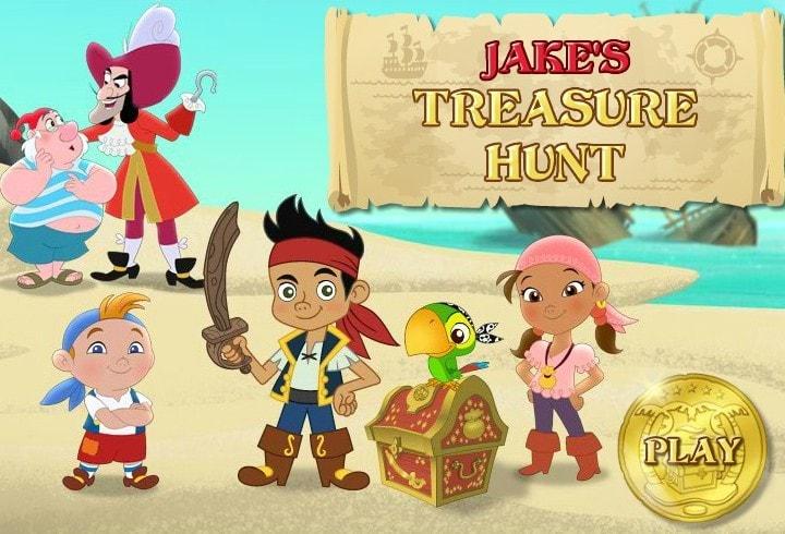 Джек кладоискатель на острове пиратов