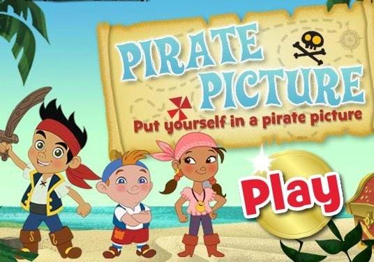 Создать пиратскую фотографию