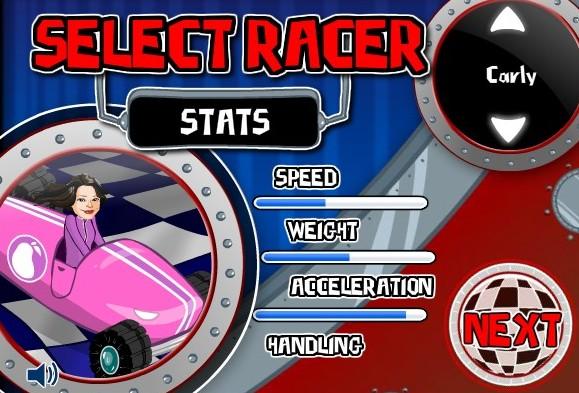 Ай Карли перегонки на автомобилях