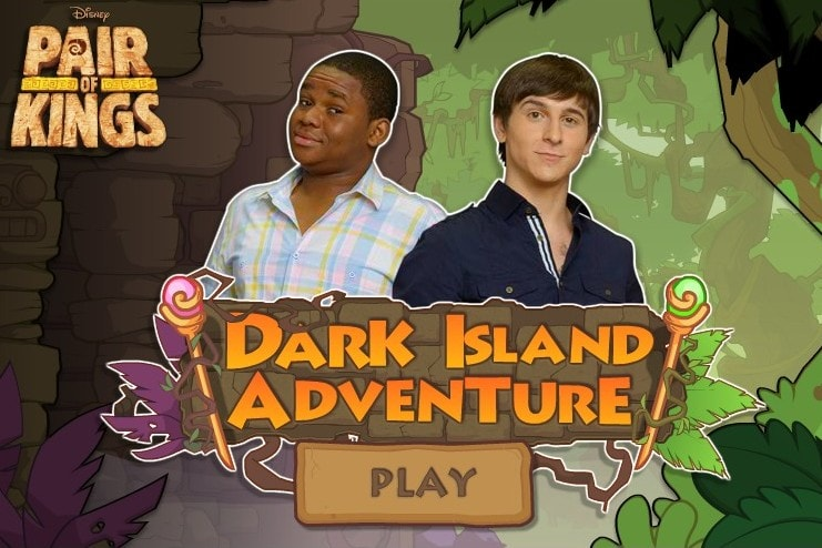 Темный остров приключений