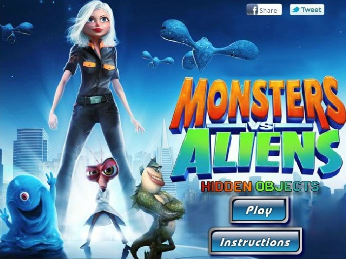 Monsters vs aliens 176x220. Jar, monsters vs aliens, arcade.