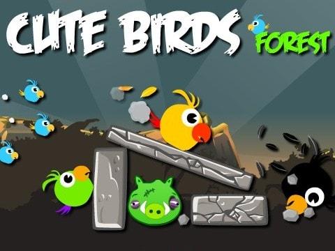 Злые птицы в лесу
