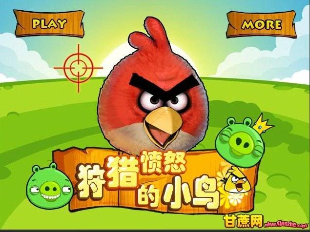 Злые птицы экстремальная охота