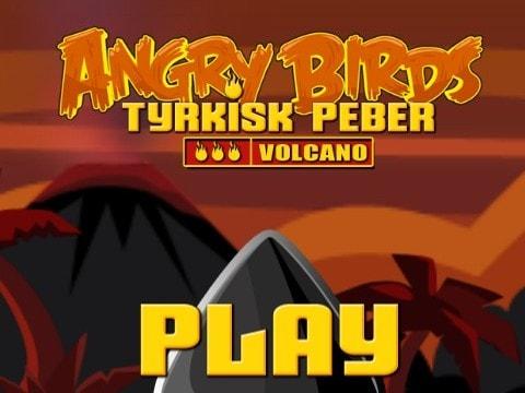 Злые птицы на вулкане