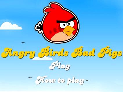Злые птицы против поросят