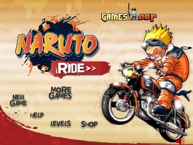 Наруто гонки на мотоциклах