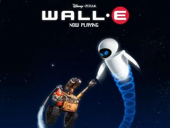 Управлять Валли в космосе с помощью огнетушителя
